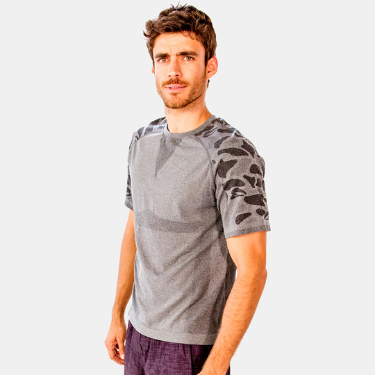 Camo Sleeve Shirt
