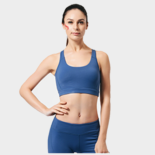Royal Blue High Intensity Sports Bra