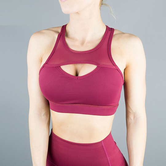 Stylish Front Cutout Sports bra
