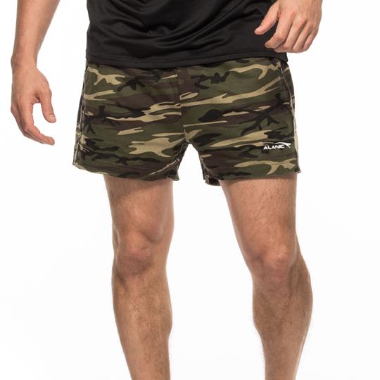 Camo Low Cut Shorts