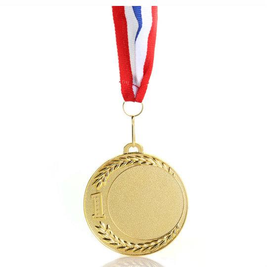 Sleek Suspended Gold Medal