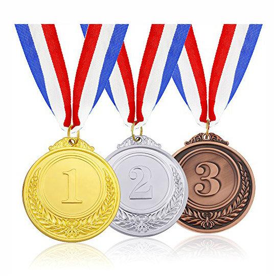 Tri Color Medal for Marathon
