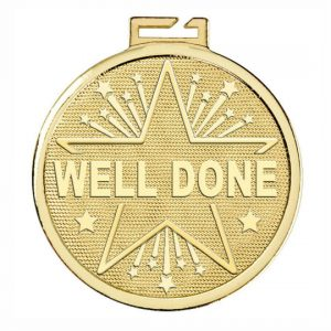 Well Done Gold Medal