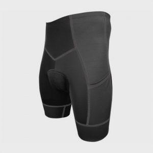 Bulk Marathon Dark Grey Elastic Shorts Manufacturer