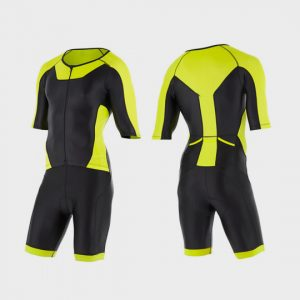 blue black neon triathlon suit manufacturer