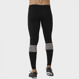 Black and Grey Banded Wholesale Marathon Leggings Bulk USA