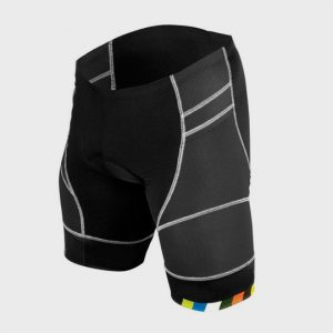 Black and Grey Multi color Panel Marathon Shorts Supplier USA