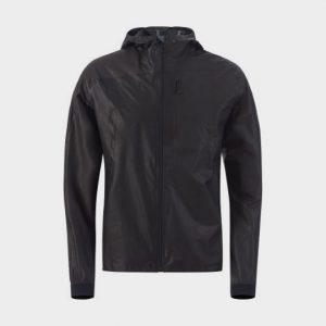 wholesale black color block marathon jacket supplier