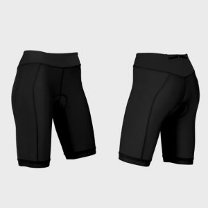 Bulk Black Color Block Marathon Shorts Manufacturer