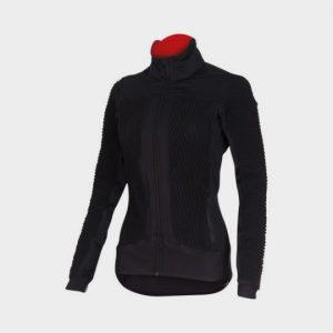 wholesale black polo neck marathon jacket