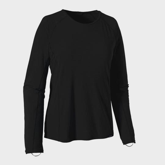 wholesale black round neck long sleeve marathon t-shirt supplier