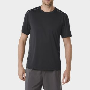 Wholesale Black Short Sleeve Marathon T-shirt Supplier