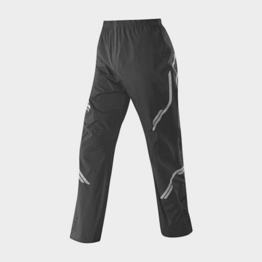 Black Trendy Print Marathon Pants Supplier