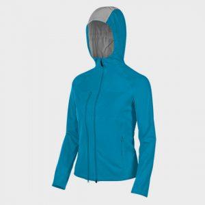 bulk blue and grey hooded marathon jacket distributor
