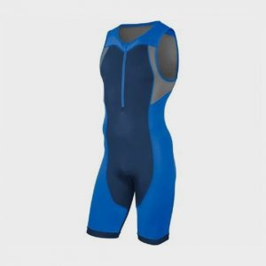 blue and grey triathlon suit supplier