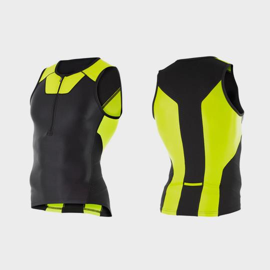 blue black neon triathlon suit top supplier
