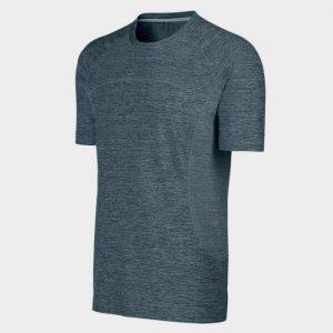 Blue Fashion Short Sleeves Marathon T-shirt Supplier