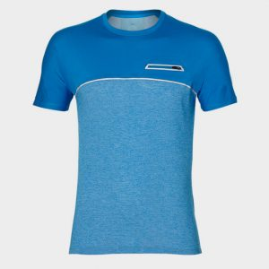 Bulk Blue Hue Short Sleeves Marathon T-shirt Supplier
