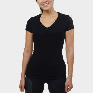 Marathon Glossy Black Short Sleeves T-Shirt Supplier