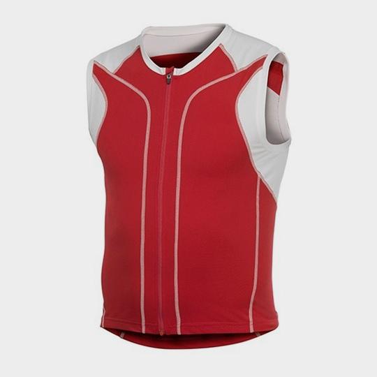 White and Red Short Sleeves Marathon T-shirt Manufacturer USA