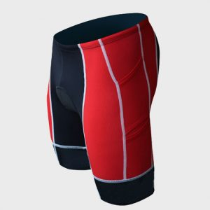 Black, Red and White Marathon Shorts Manufacturer