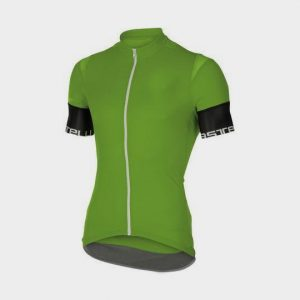Wholesale Green and Black Short Sleeves Marathon T-shirt Manufacturer