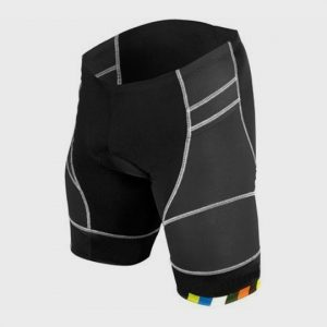 Grey and Black Multi color band shorts Distributor USA