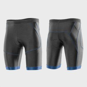 Wholesale Grey and Blue Marathon Shorts Supplier