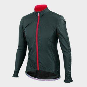 wholesale grey and red marathon jacket supplier