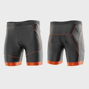 Grey and Red Marathon Shorts Supplier