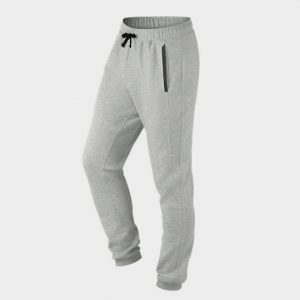 Bulk Grey Grained Jogger Marathon Pants Supplier