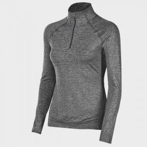 wholesale grey long sleeve marathon t-shirt supplier