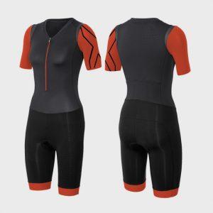 bulk grey red and black triathlon suit manufacturer