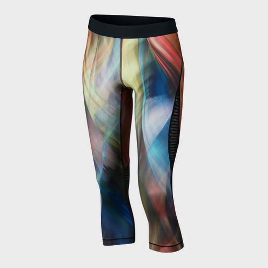 wholesale multicolor smoke marathon leggings supplier