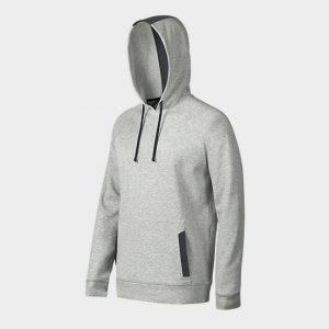 light grey and black hooded marathon jacket supplier usa