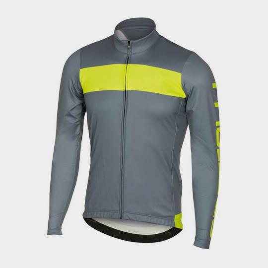 bulk light grey and neon marathon jacket supplier
