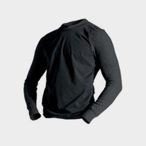Long Sleeve Black Marathon Running T-shirt Wholesale CA