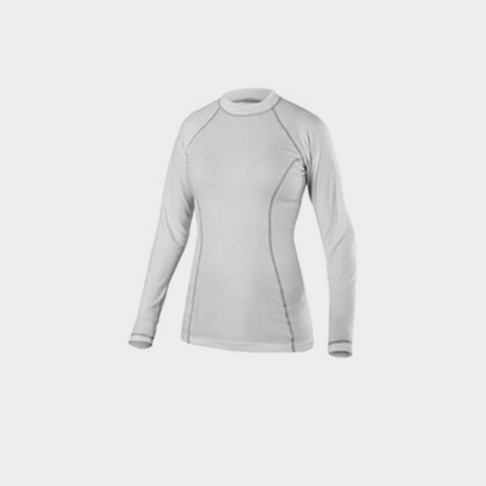 Long Sleeve White and Grey Marathon T-shirt Distributor
