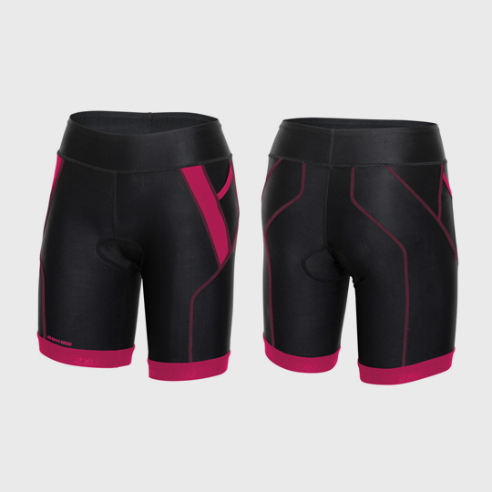 wholesale marathon black and magenta shorts manufacturer usa