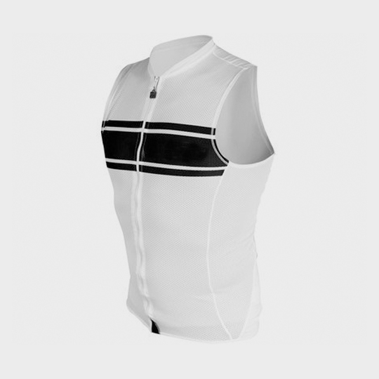 marathon black and white retro tank top supplier