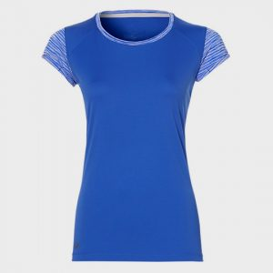 wholesale marathon blue printed short sleeve tee supplier