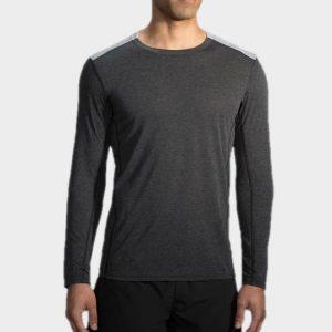 Marathon dark grey long sleeve tee