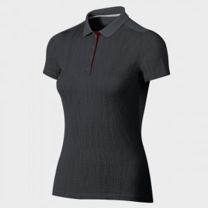wholesale marathon dark grey polo short sleeve tee supplier