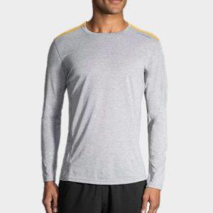 Marathon light grey long sleeve tee