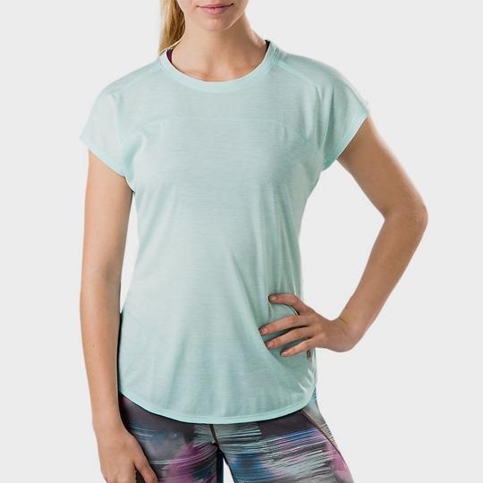 wholesale Marathon mint green short sleeve tee supplier