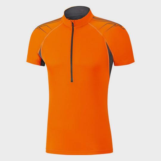 bulk marathon orange short sleeve tee supplier