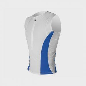 marathon white and blue bright tank top distributor