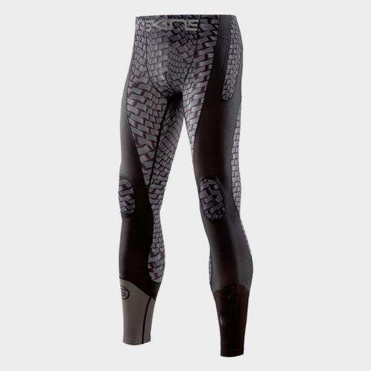Black and Grey Slim Fit Marathon Pants Manufacturer USA