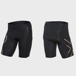 Bulk Black and Neon Green Marathon Shorts Supplier