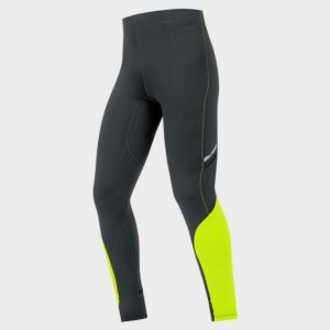 Black and Neon Green Slim Fit Marathon Pants Manufacturer